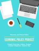 AP Macroeconomics Policy Project