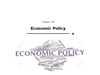 Economic Policy Lecture Slides (student portion)