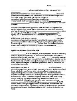 Economic Principles Clozed Notes