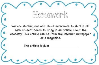 Economic Resource Bundle