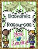 Economic Resources {Reading Passages & Questions}