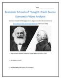 Economic Schools of Thought: Crash Course Economics- Video Analysis with Key