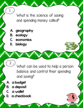 Economic Scoot!  An interactive social studies activity for intermediate grades!