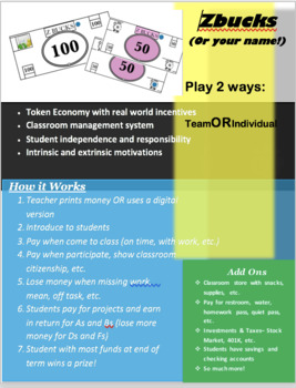 Economic Simulation - Token Economy with CASH, CARDS & MORE!