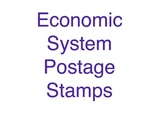 Economic System Postage Stamps