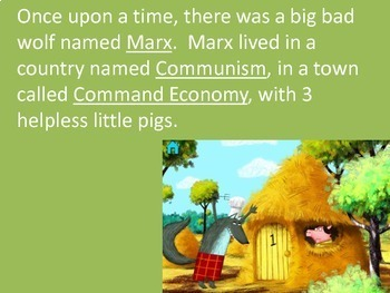 Economic Systems Capitalism vs. Communism Story Book Project & Ppt example