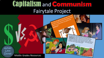 Economic Systems Capitalism vs. Communism Story Book Proje