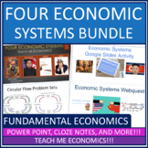 Economic Systems - Market Command Traditional Bundle Power Point High School