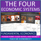 Economic Systems - Market, Command, Traditional Mixed Powe
