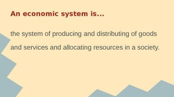 Economic Systems PPT