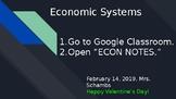 Economic Systems Slideshow