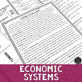 Economic Systems and Europe Reading & Writing Activity (SS6E7, SS6E7a)
