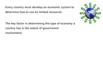 Economic Systems power point (CE.11b)