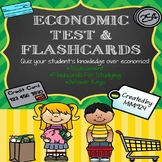 Economic Test & Flashcards