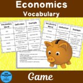 Economic Vocabulary Game