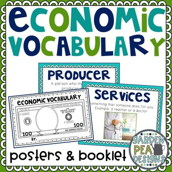 Economic Vocabulary and Booklet