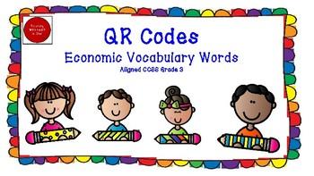 Economic Vocabulary with QR Codes