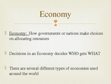Economic and Political Systems - Introduction
