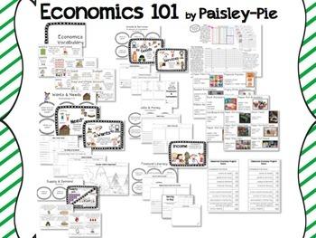 SOCIAL STUDIES: Economics 101- A Unit for 1st-3rd Grades