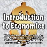 Economics PowerPoint Presentation