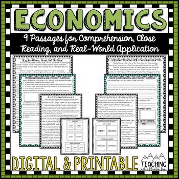 Economics Comprehension Passages