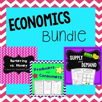 Economics Lessons: Bartering, Supply and Demand, and Producers and Consumers