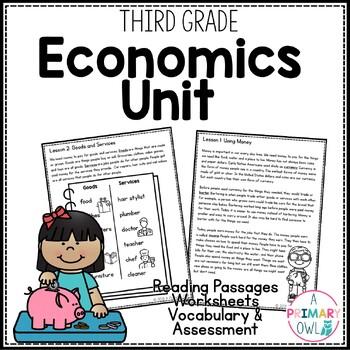 Economics: 3rd Grade Georgia Social Studies Unit