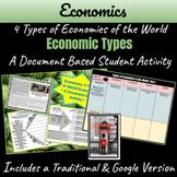 Economics: 4 Types of Economies of the World ~A Document Based Activity~
