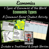 Economics: 4 Types of Economies of the World Activity (Distance Learning)