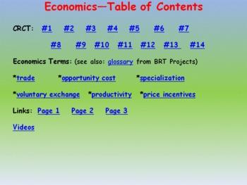 Economics 4th Grade CRCT Prep