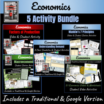 "Economics ""5 Lesson Bundle"""