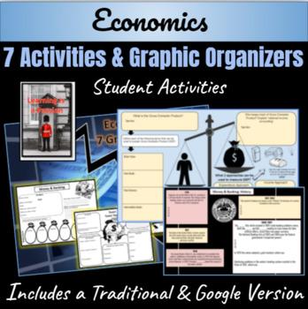 "Economics ""7 Graphic Organizers"" Bundle"