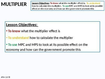 Economics: Marginal Propensity to Consume (MPC) and Multiplier