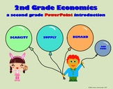 Economics - A Second Grade PowerPoint Activity Packet