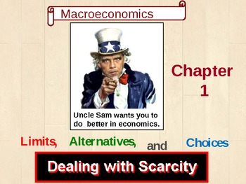 Macroeconomics [AP] - Chapter 1 Limits, Alternatives, and Choices