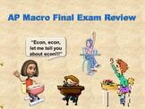 Economics [AP] -  Macroeconomics Review For Final