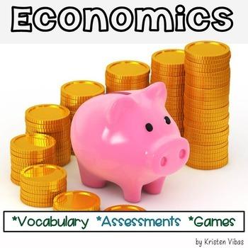 Economics Vocabulary and Activities