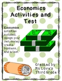 Economics Activities and Test