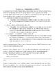 Economics Activity Packet