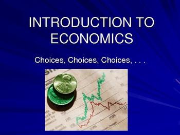 Economics: An Introduction to Economics