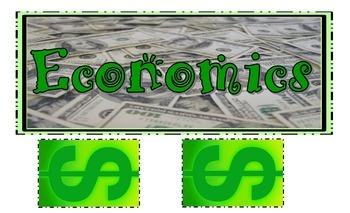 Economics Anchor Chart