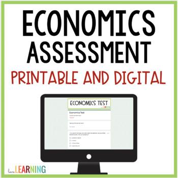 Economics Assessment {4th-6th Grade}