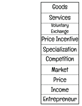 Economics Assessment with Study Guide with BONUS