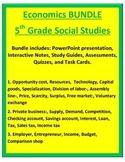 Economics BUNDLE - 5th Social Studies