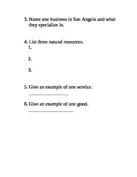 Economics Basics Test