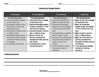 Economics Big Idea Project