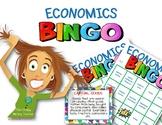 Economics Bingo Printable Review Game