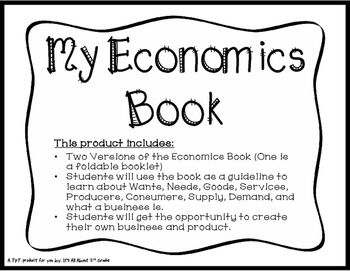Economics Booklet