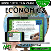 Economics Boom Cards - Distance Learning - Complete Social