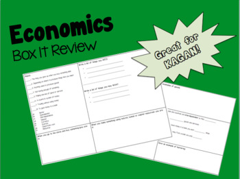 Economics Box It Review